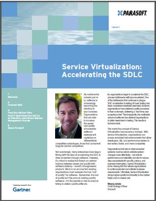 Service Virtualization Gartner