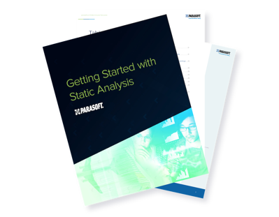 Getting Started with Static Analysis