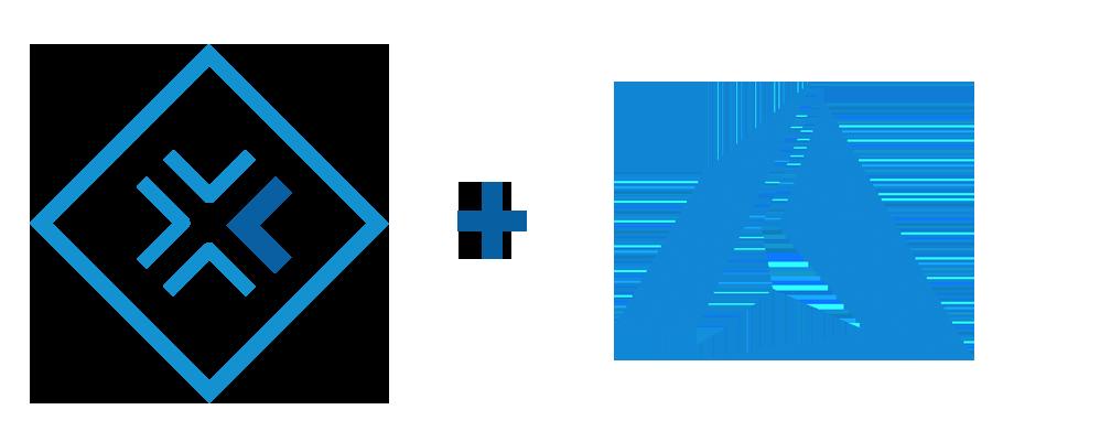 virtualize + azure just logo