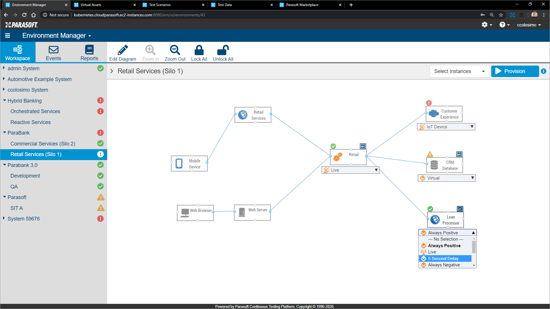 Virtualize in CTP-1